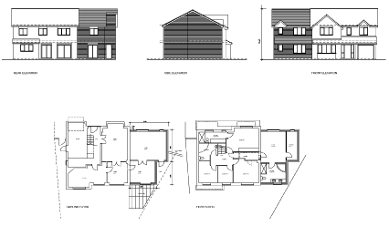 extension drawing telford